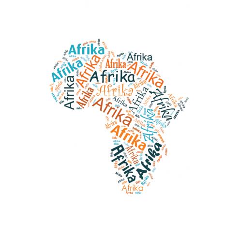 Afrika - DIN A3