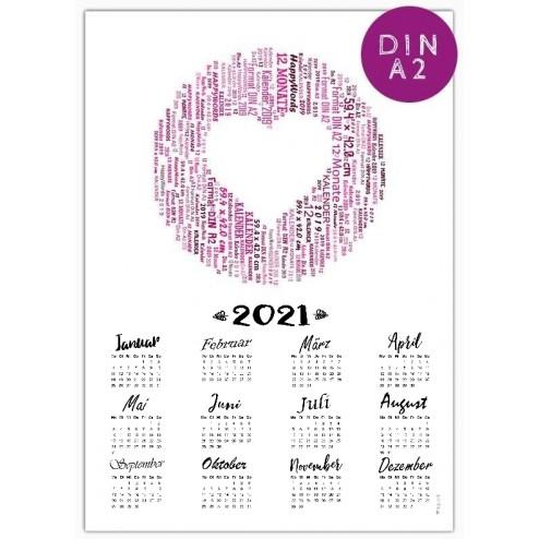 Kalender 2021 - DIN A2