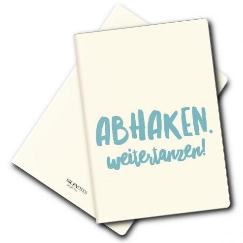 Notizheft - Abhaken - Weitertanzen