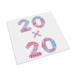 Kunstdruck - 20 x 20 cm
