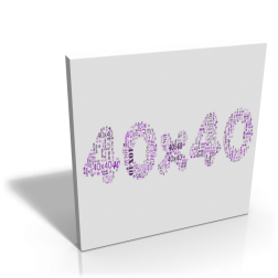 Keilrahmen - 40 x 40 cm
