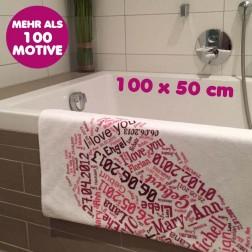 Handtuch 100x50 cm