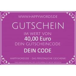 Gutschein-40
