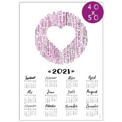 Kalender 2021 - 40 x 50 cm