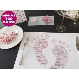 Papier-Tischset